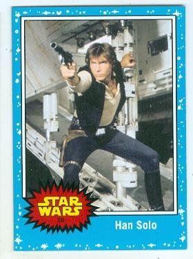 Han Solo trading card Star Wars JTFA 2015 Topps #28 Harrison Ford //Price: $4 & FREE Shipping //     #starwarsmeme