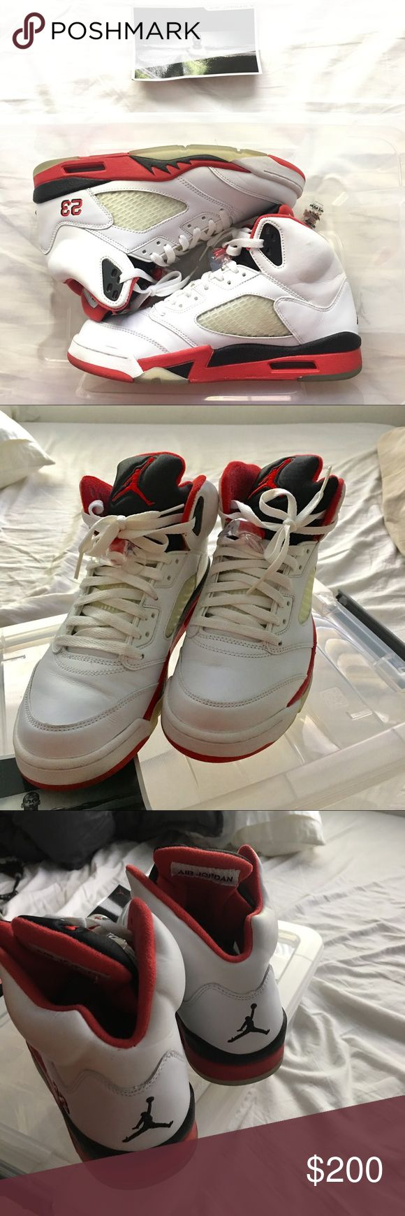 Jordan Fire Red IIIII fives 