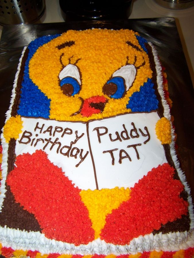 """love the """"happy birthday puddy tat"""" that's cute!!!!!"""