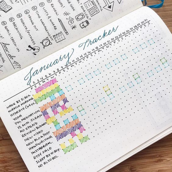 Or, if you're truly ambitious, a bullet journal-er. | 18 Undeniable Things All Journal Hoarders Know To Be True: