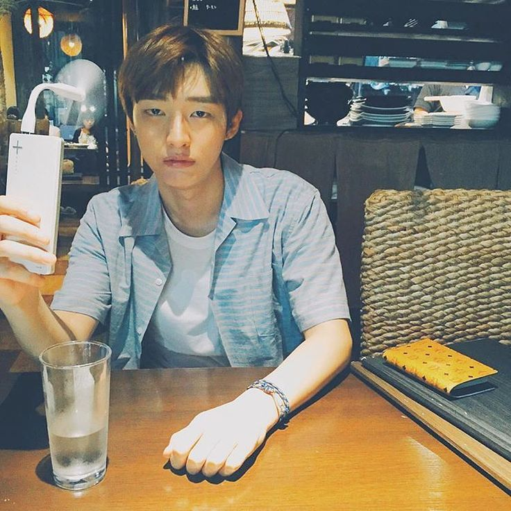 "Instagram: ""Waiting for jisung's 100k followers Btw he looks like nam joo hyuk here  #yoonjisung #윤지성 #jisung…"""