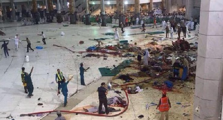 Is this a coincidence or act of God? I side with the second option. 'ACT OF GOD': On 9/11 Leaves Muslim Masses Killed In Islam's Most Sacred Place