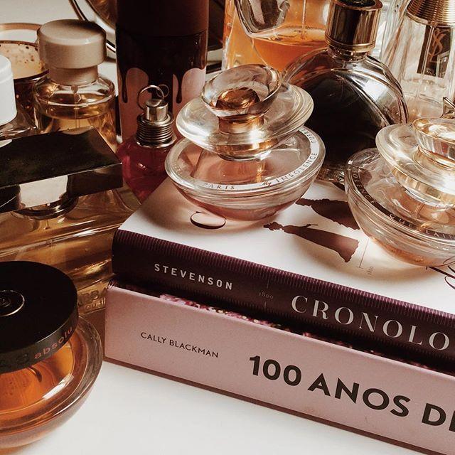 ✨ #perfume #perfumes #parfum #vanity #guerlain #rochas #oboticario #zara #cacharel #bdvibes