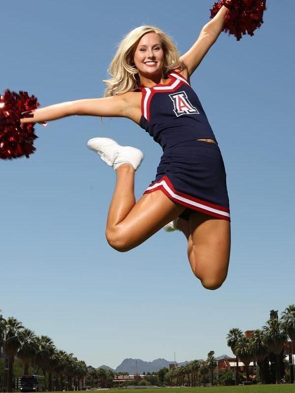Real teen cheerleaders flipping — 13
