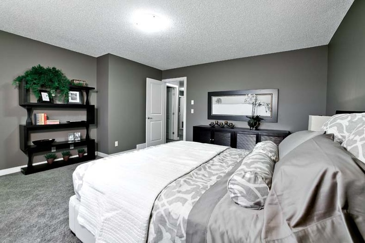 Owner's bedroom in Leera Showhome in Sherwood in NW Calgary, Alberta, by Shane Homes