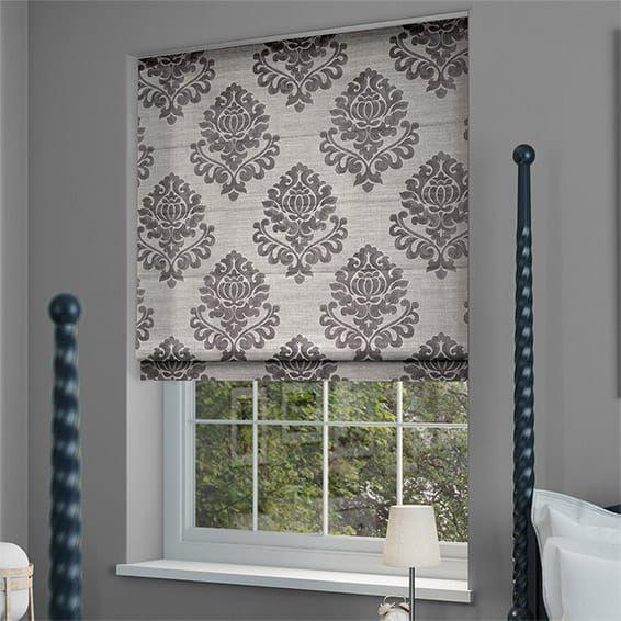 1000 ideas about grey roman blinds on pinterest roman. Black Bedroom Furniture Sets. Home Design Ideas