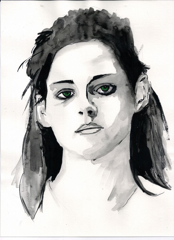 Kristen Stewart . . . . . . #KristenStewart#Kristen #Stewart #dark #portrait #art #illustration #drawing #draw #photography #artist #sketch #paper #pen #pencil #artsy #instaart #beautiful #instagood #tinta #ink #artsy #black #handmade #blackandwhite