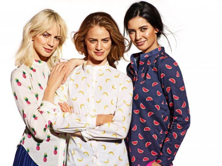 Wólczanka wiosna/lato 2015 kolekcja damska koszule damskie koszula w owoce #fruits #summer #collection