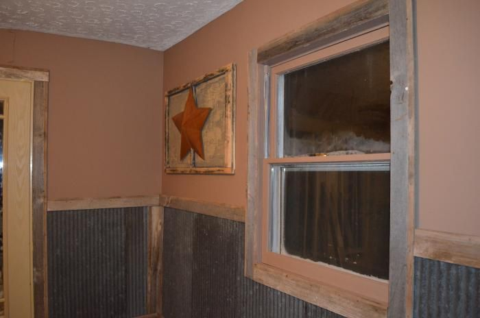 Interior Walls   Homesteading Today Corrugated Metal Corrugated  TinCorrugated Metal Interior Walls