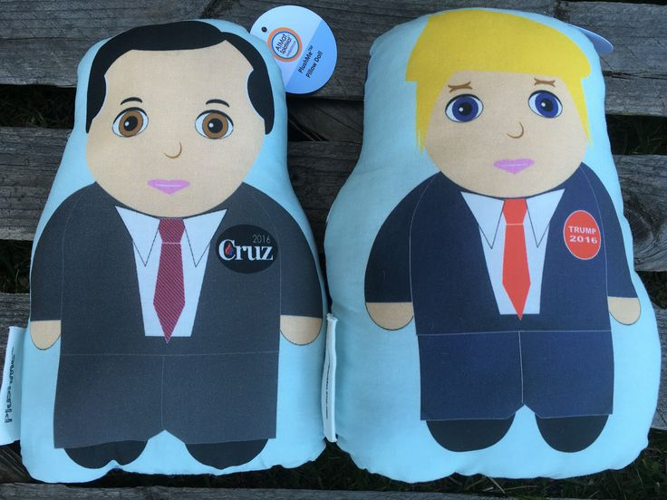 Who do you like in 2016? #donald #thedonald #trump #cruz #president #election2016 #politician #doll