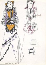 V&A - Ossie Clark - Ossie Clark's Designs - Ossie Clark for Radley