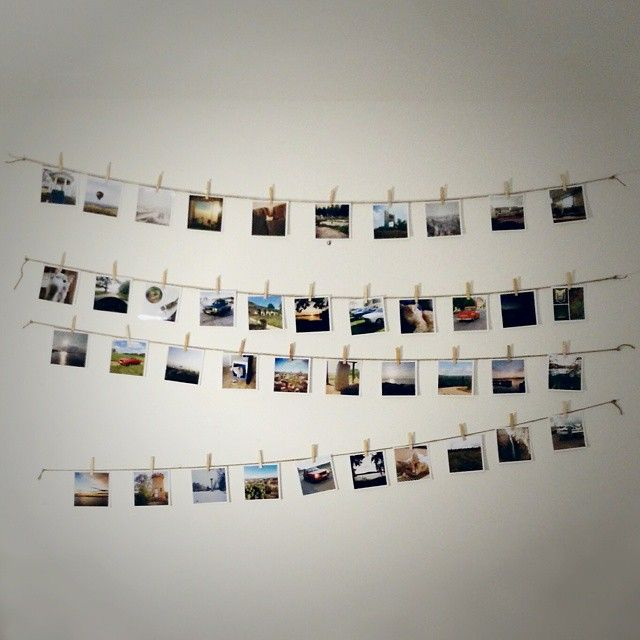 Square Snaps Instagram Community Examples- Polaroid Style prints. Photo Display idea by @arekbn. #DIY. Order your mini polas at square-snaps.com. UK Free shipping