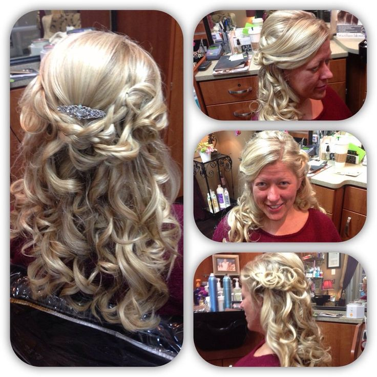 Kathy Hietpas - Fishers, IN, United States. Updo. Bride gorgeous on her special day