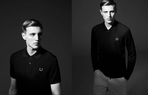 · Fred Perry Laurel Wreath 60th Anniversary Blank Canvas Collection: Laurel Wreath, Blank Canvas, Black Canvas, Canvas Collection