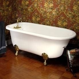 17 best images about antique bathtub on pinterest adobe for How big is a bathtub