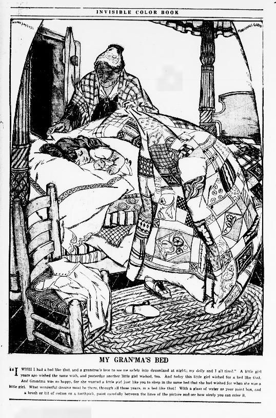 """""""Invisible Color Book,"""" Evening Star (Washington, DC), June 4, 1922. Library of Congress, Chronicling America: Historic American Newspapers. #ColorOurCollections"""