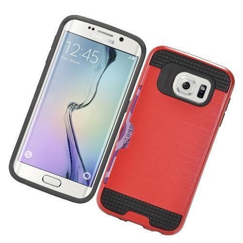 Protective Case with Credit Card Holder Snap On Cover For Samsung Galaxy S7 Edge #UnbrandedGeneric