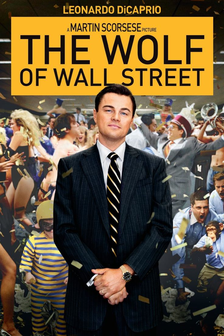 The Wolf of Wall Street, 2013.