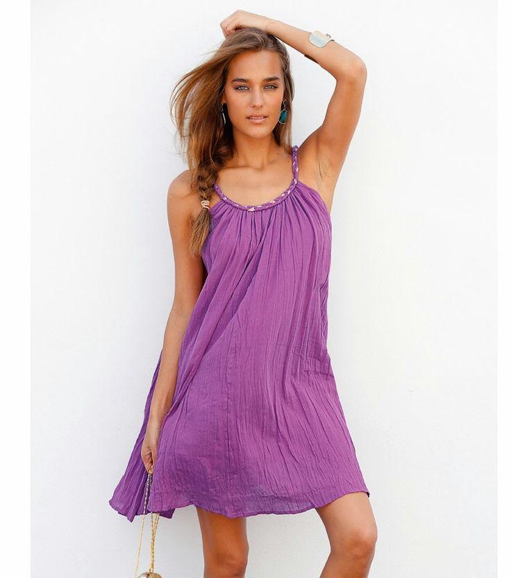 Excelentes modelos de vestidos cortos de moda : Moda en vestidos cortos de temporada