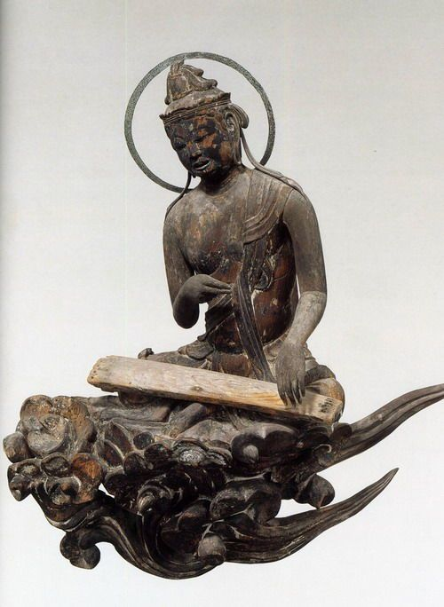 雲中供養菩薩像 Cloud memorial Bodhisattva - Byodoin Temple -09