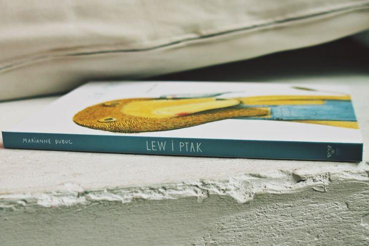 Maki w Giverny: Lew i ptak, Marianne Dubuc