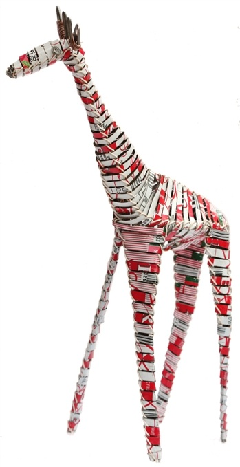 Acacia Creations - Soda Can Standing Giraffe