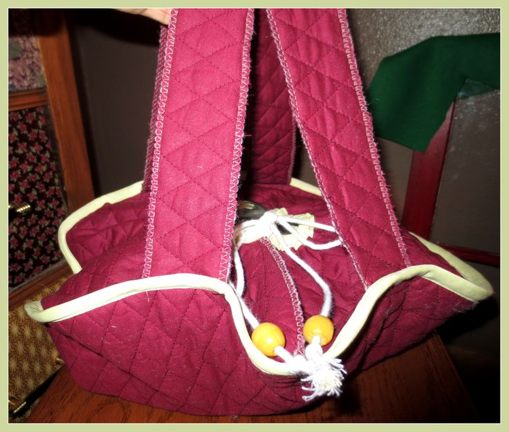 Pre-quilted fabric used to make a simple hot casserole carrier!