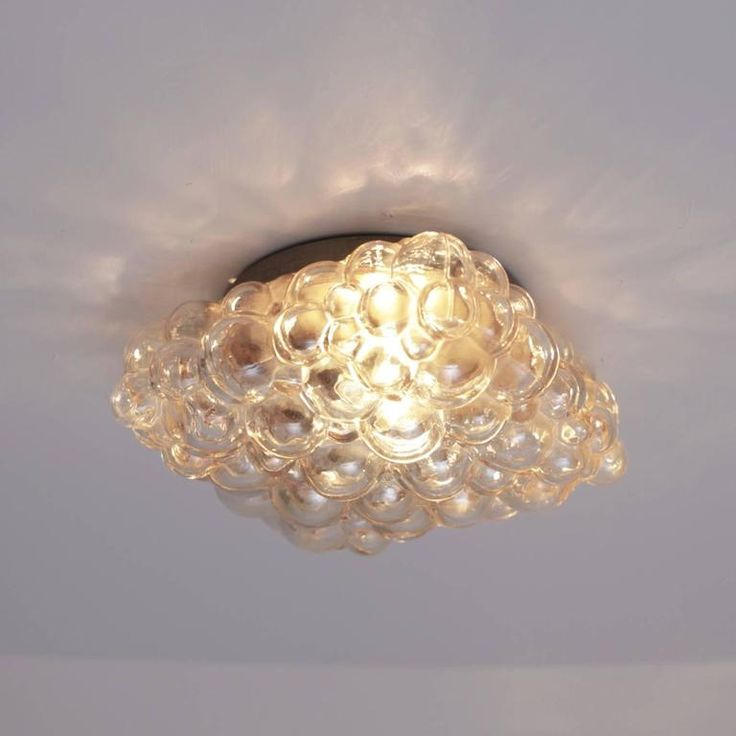 One Of Two Helena Tynell Glass Flush Mount Or Sconce For Glashtte Limburg