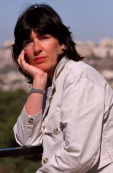 CNN foreign correspondent Christiane Amanpour. Fearless reporting from the Mideast!