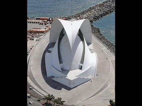 "Tenerife's Auditorium... because ""so too is the music..."