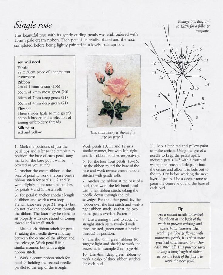 807 Best Haft Wsteczkowy Images On Pinterest Ribbons Embroidery