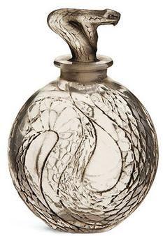 René Lalique Snake perfume bottle
