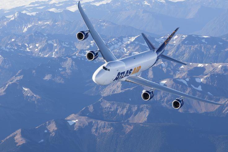 Atlas Air Boeing 747-8F freighter