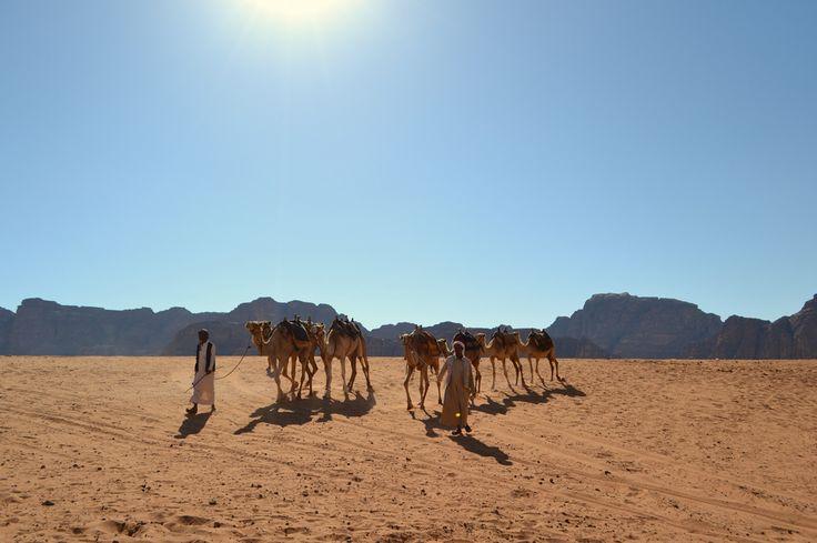 Wadi Rum, Jordania.
