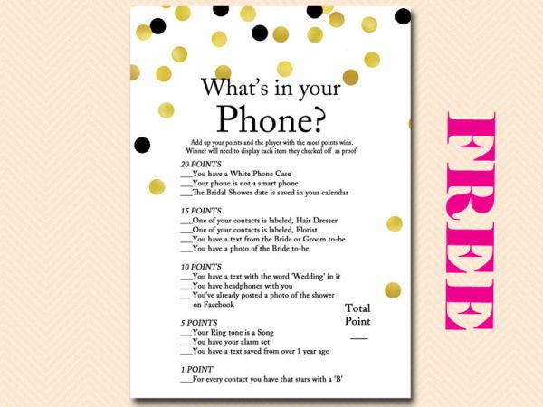 Free bridal shower game whats in your phone bridal shower free bridal shower game whats in your phone bridal shower pinterest free bridal shower games bridal shower games and bridal showers solutioingenieria Gallery
