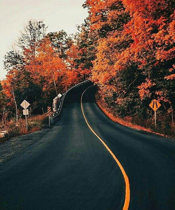 Scenic route.