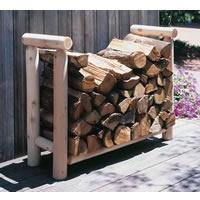 Cedar Firewood Rack, 3'
