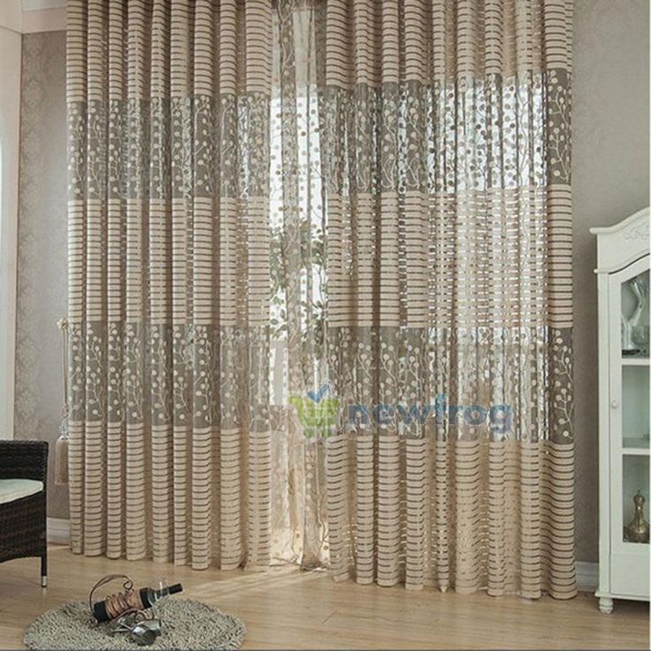 modern room tulle door window curtain balcony drape panel sheer scarfs valances