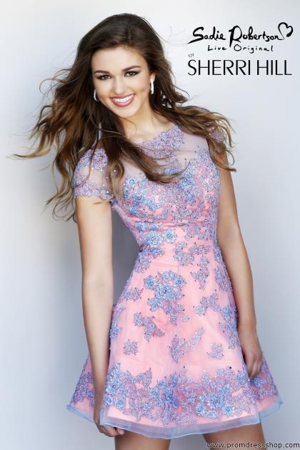 Sherri Hill Short Dress 11063 at Prom Dress Shop    OMG