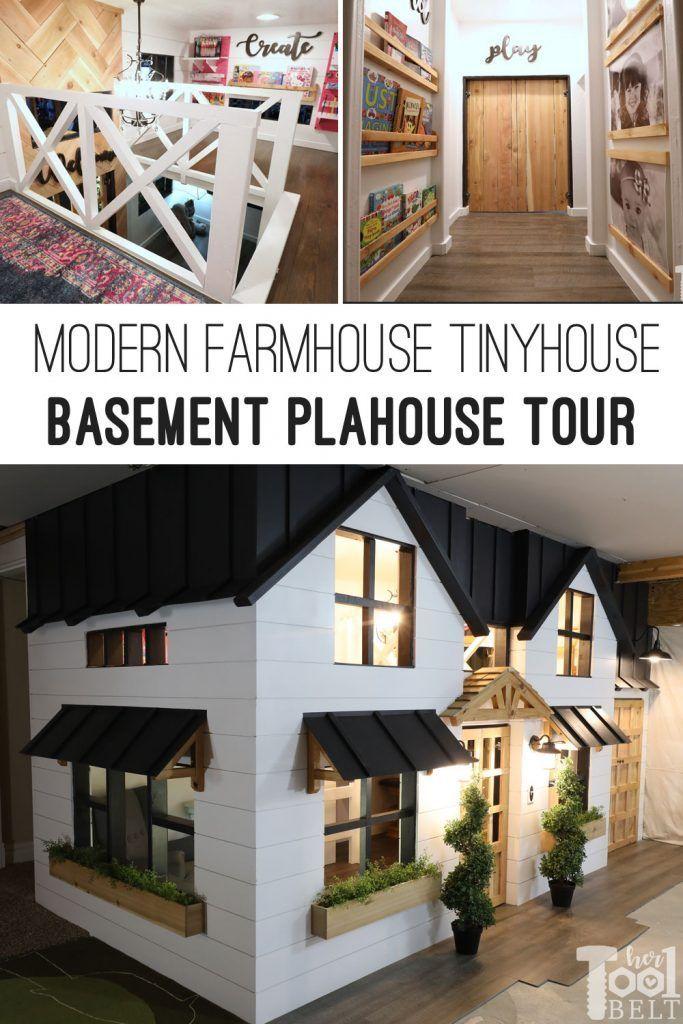 basement playhouse build tiny house toy room reveal best of rh co pinterest com