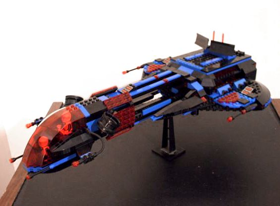 LEGO MOC | 6986 Mission Commander revisited #space #police