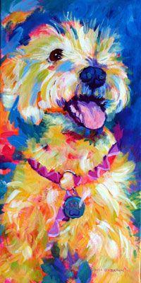 Lovin' this! Original acrylic Linda Hendrickson