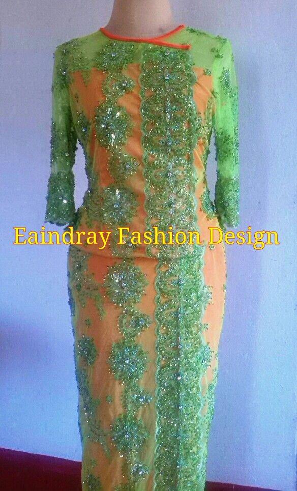 lace & sequin dress