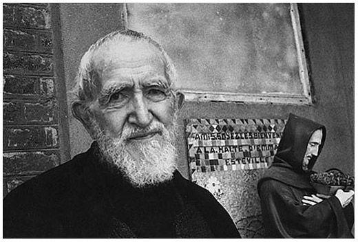 L'Abbé Pierre - 1994 © Henri Cartier-Bresson / Magnum