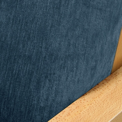 Chenille Navy Blue Futon Cover Futoncover