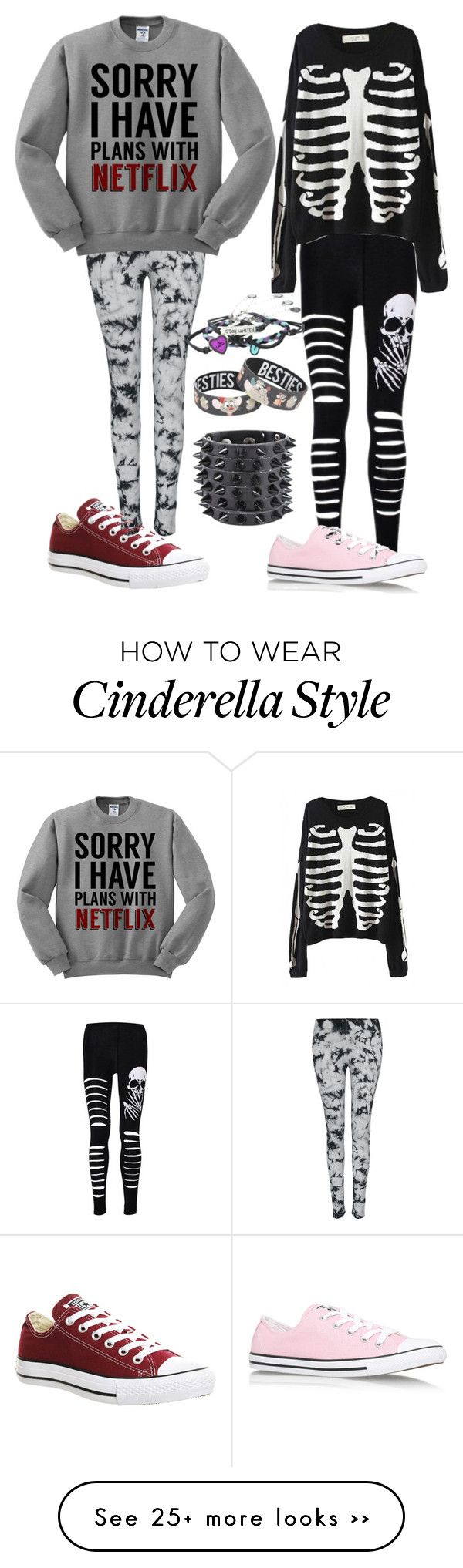 """""""Untitled #954"""" by kellyjellybelly on Polyvore featuring Converse and Disney"""