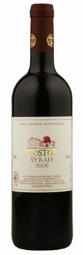 Manousakis Winery - Nostos Syrah 2010. Grape varietal: Syrah. The wine is certified organic. Our price, DKK 179.00