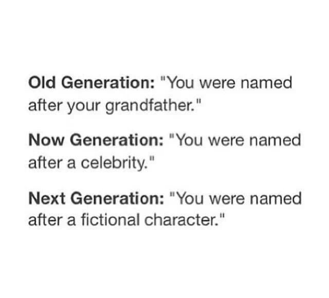 Yep. Sorry Scorpius Severus. Or Bellatrix Evangeline. You will have your name legally changed once I adopt you.