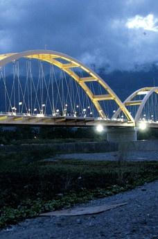 Teluk Palu Bridge, Sulawesi, Indonesia
