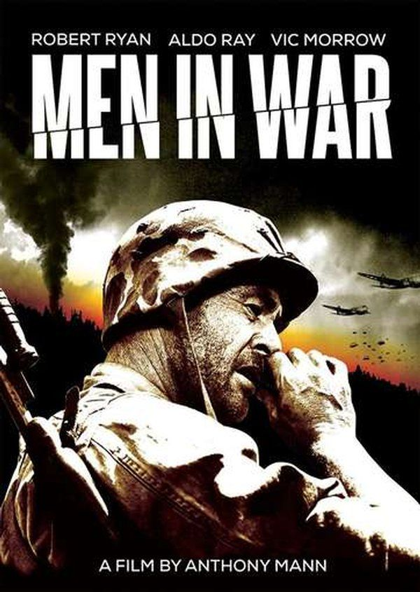 Men in War DVD (1957) Starring Vic Morrow; Directed by Anthony Mann; Starring Robert Ryan & Aldo Ray; Olive Films | OLDIES.com